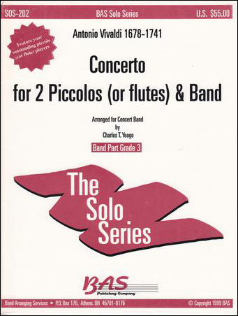 Concerto in C-Two Piccolos/Band