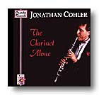 Clarinet Alone-CD