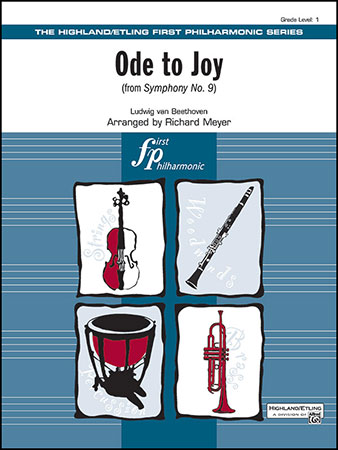 Ode to Joy choral sheet music cover