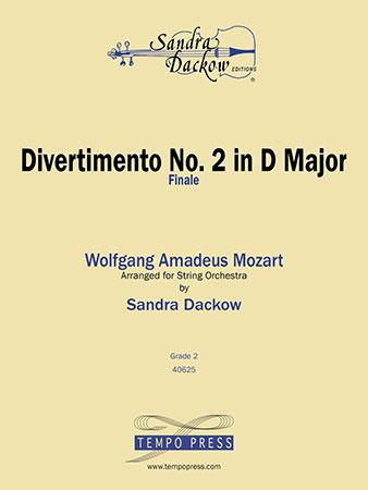Divertimento No. 2 in D Major-Finale
