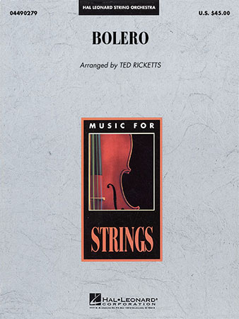 Bolero By Maurice Ravelarr Ted Ricketts Jw Pepper Sheet Music