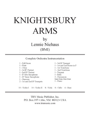 Knightsbury Arms-Full Orchestra