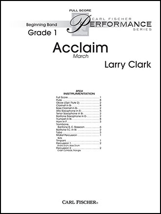 Acclaim March Cover