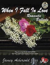 Jamey Aebersold Jazz, Volume 110 (When I Fall in Love - Romantic Ballads)