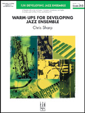 Warm-Ups for Developing Jazz Ensemble Cover