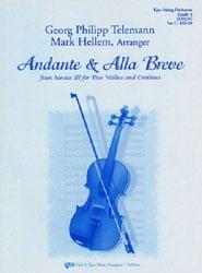 Andante and Alla Breve