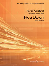 Hoe Down choral sheet music cover