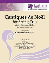 Cantiques de Noel-2 Violins/Cello