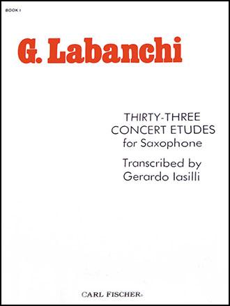 33 Concert Etudes No. 1