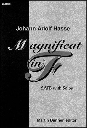 Magnificat in F-Choral Score
