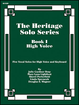 Heritage Solo Series No. 1-High Voice