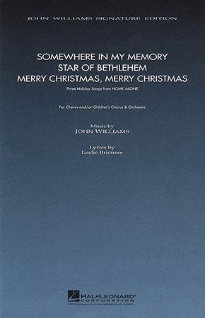 Home Alone: Three Holiday Songs choral sheet music cover