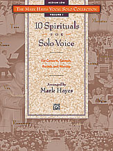 Ten Spirituals for Solo Voice Thumbnail