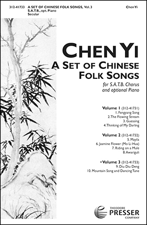 A Set of Chinese Folk Songs, Vol. 3 Cover