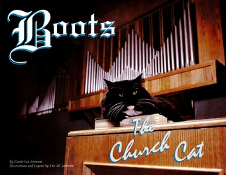 Boots the Church Cat