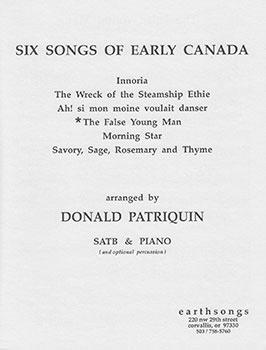 False Young Man (7 Canadian Folk)