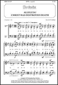 Alleluia Christ Has Destroyed Death