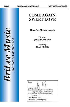 Come Again Sweet Love