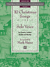 Ten Christmas Songs for Solo Voice