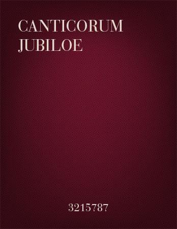 Canticorum Jubiloe