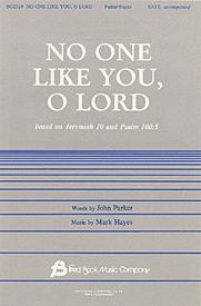 No One Like You O Lord Cover