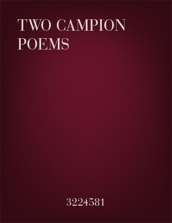Two Campion Poems