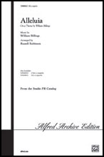 Alleluia on a Theme by William Billings