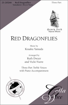 Red Dragonflies