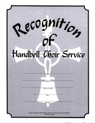 Certificate - Handbells