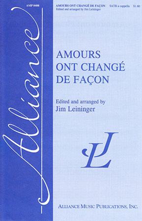 Amours Ont Change de Facon