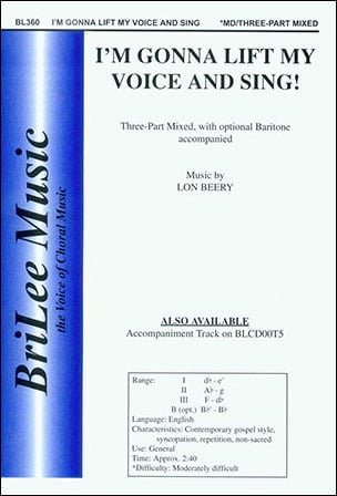 I'm Gonna Lift My Voice and Sing!