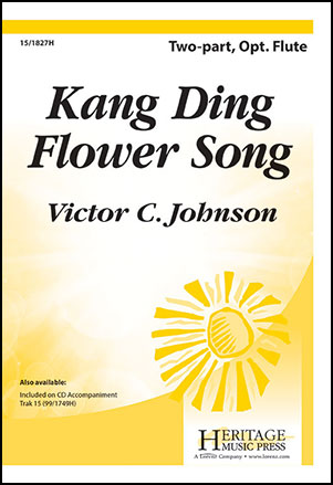 Kang ding flower song two part by victor jw pepper sheet music kang ding flower song cover mightylinksfo