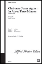 Christmas In About Three Minutes.Search Christmas In About Three Minutes Sab Sheet Music At