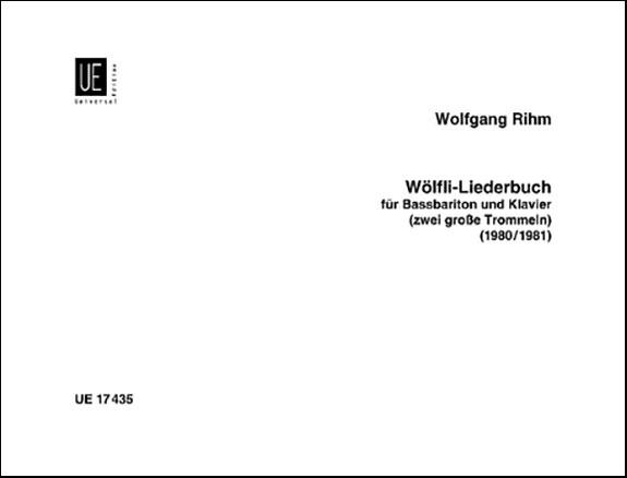 Wolfli-Lieberbuch-Baritone