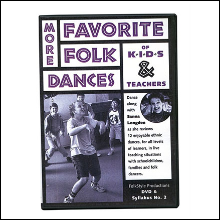Favorite Folk Dances of Kids and Teachers