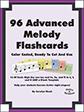 Advanced Melody Flashcards