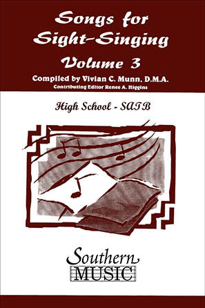 Songs for Sight-Singing - Volume 3