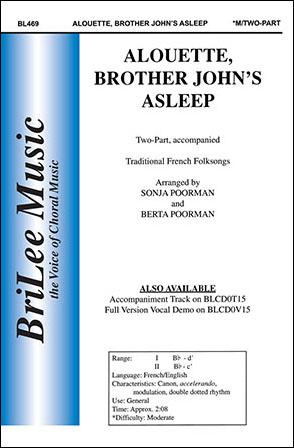 Alouette, Brother John's Asleep