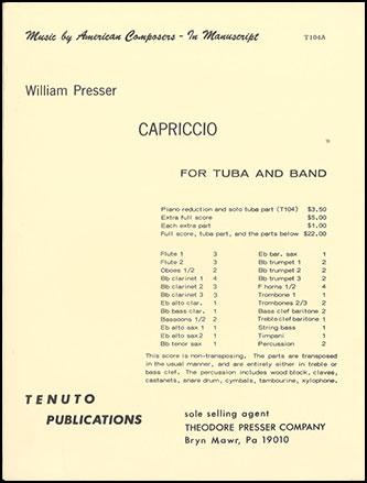 Capriccio-Tuba W/Band