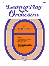 Learn to Play in Orchestra Vol. 1