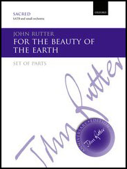 For the Beauty of the Earth Cover