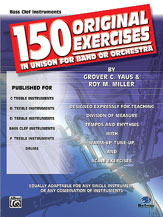 150 Original Exercises-Bass Clef