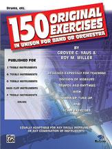 150 Original Exercises-Drums