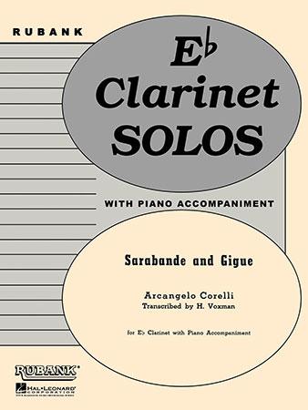 Sarabande and Gigue-E Flat Clarinet
