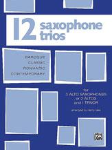 12 Saxophone Trios