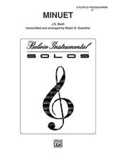 Minuet-Flute Solo