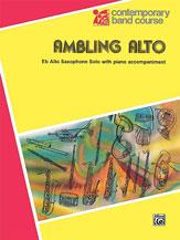 Ambling Alto-Alto Saxophone Solo
