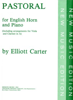 Pastorale for English Horn and Piano