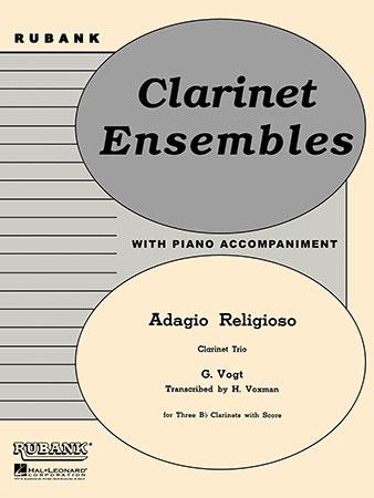 Adagio Religioso-Clarinet Trio