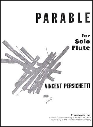 Parable for Solo Flute-Flute Solo